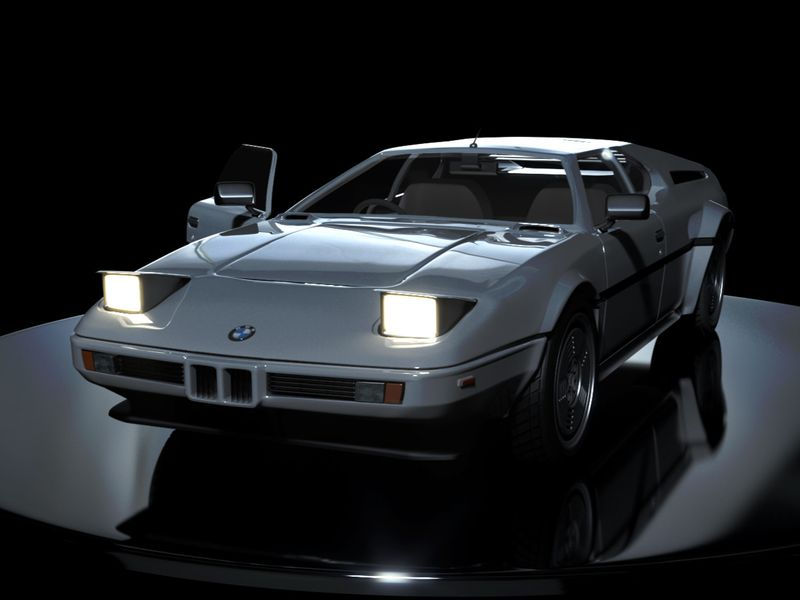 BMW M1 Vehicle Render