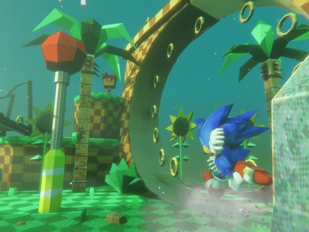 Person Project: Sonic the Hedgehog Dioramas