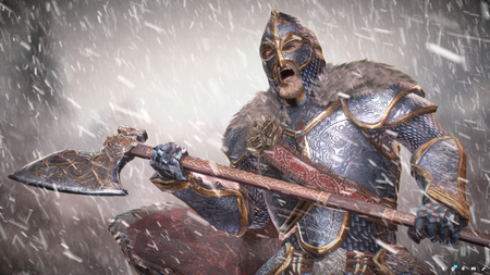 Mastercrafted Mithril Armor set for Beyond Skyrim Mod Project