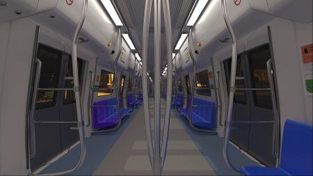 Delhi Metro In 3D