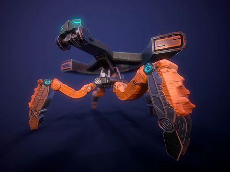 D-Frame Robot
