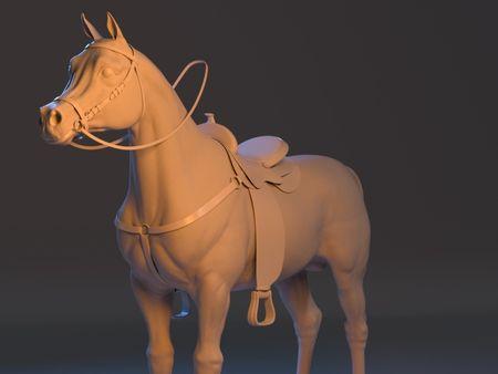 Arabian Horse_Wip