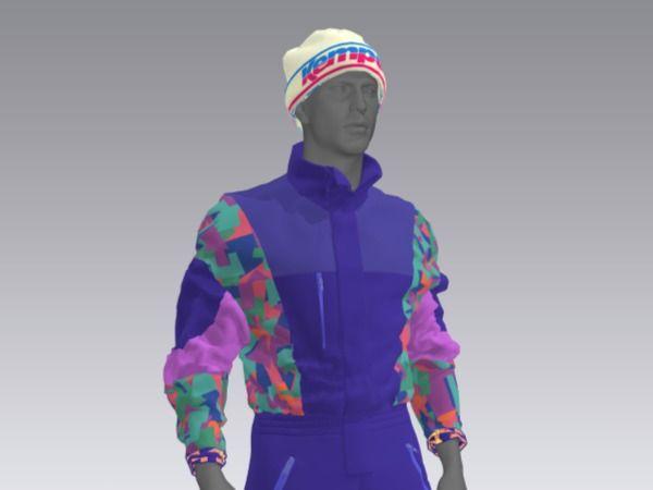 80s/90s Snowboarder