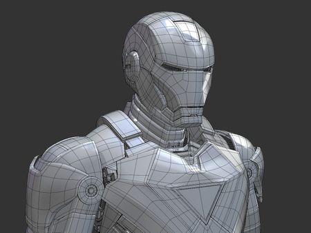 Iron Man MK VI (WIP)