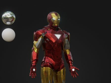 Iron Man MK IV turntable (WIP)