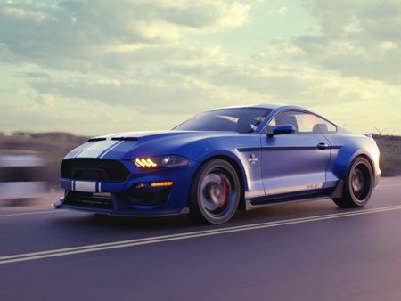 2020 Shelby Super Snake full cg animation