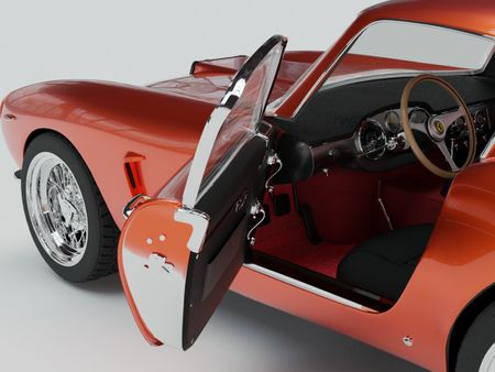Ferrari Berlinetta GT 250 SWB Car Model