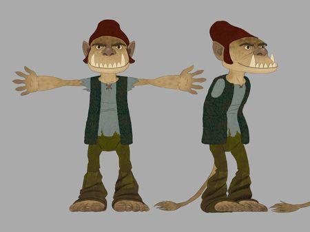 Forrest troll - Character design
