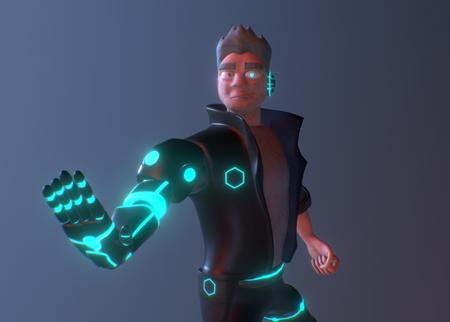Cyberpunk Character Study
