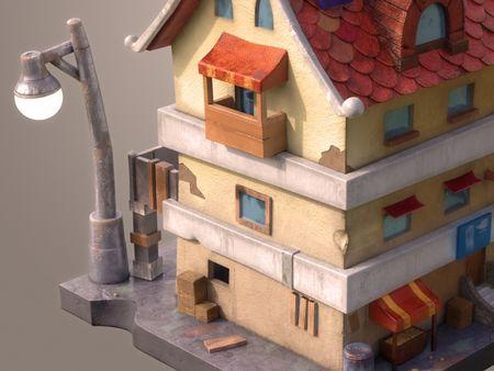 Stylized Building