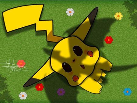 Pikachu drawn