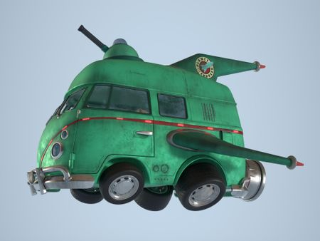 Futurama space van