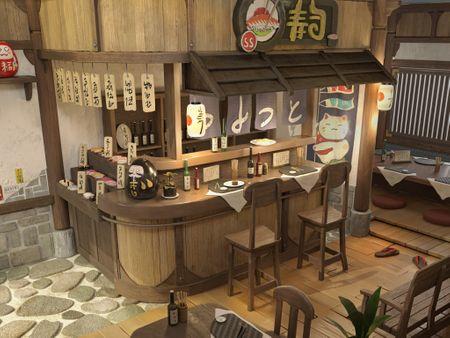 Sushi Bar environment