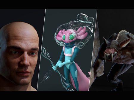 Character/ Creature Artist Portfolio