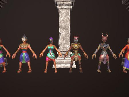 Inca Characters