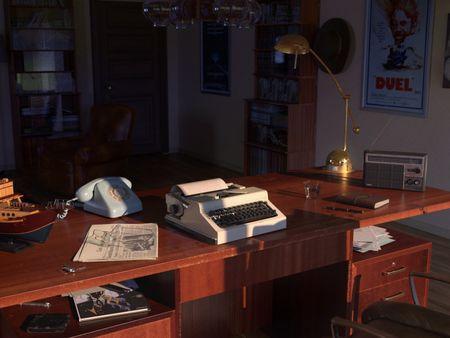 The office of Steven Spielberg