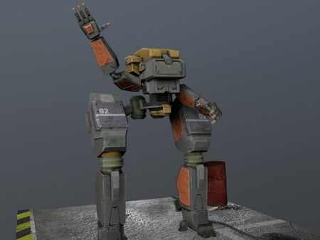 Industrial service robot