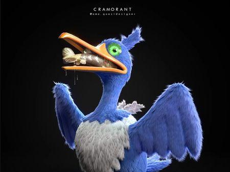 """Cramorant"" / Pokemon Fan-Art Concept"
