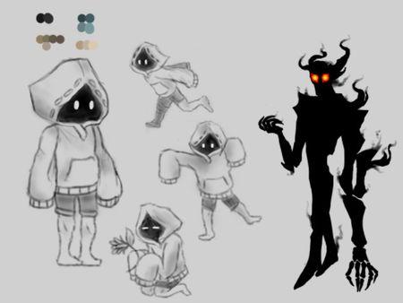 Imaginary World character