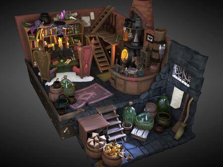The Alchemist's Lab