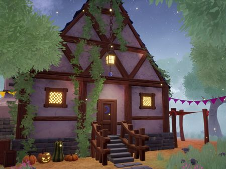 Witch's Hut Environment