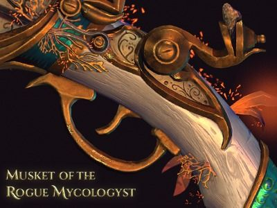 Musket of the rogue Mycologyst