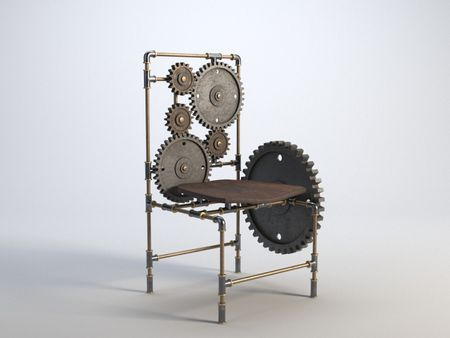 Steampunk Chair Version 2