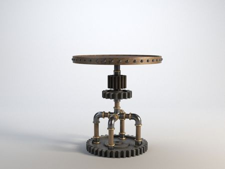 Steampunk Table Version 1