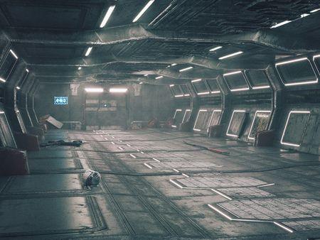 Abandoned Spaceship