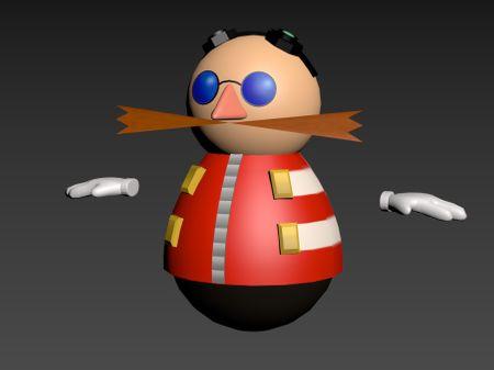 Eggman skin for Overcooked