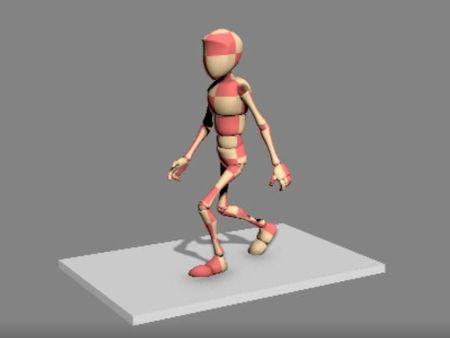 Walk Animation Cycle