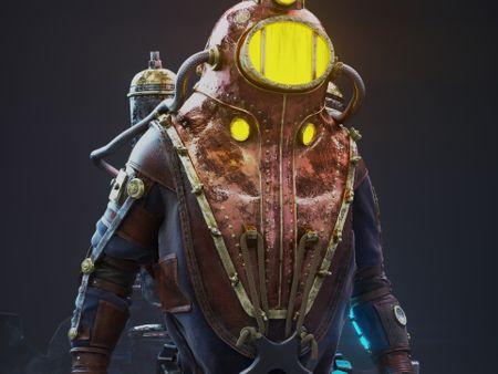 Bioshock Subject Delta Fan Art