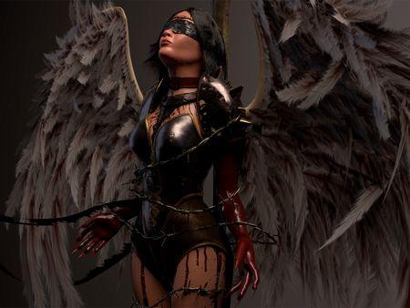 Crucified Angel
