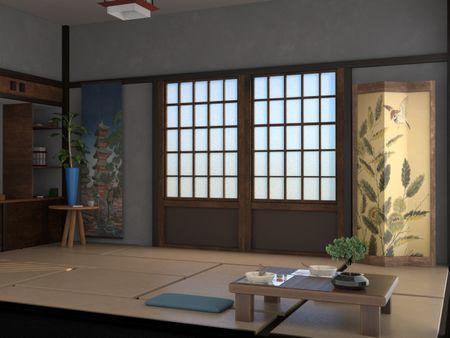 Japanese Diorama