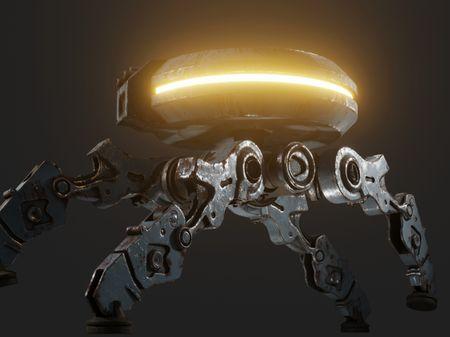 Old Sentinel Robot.