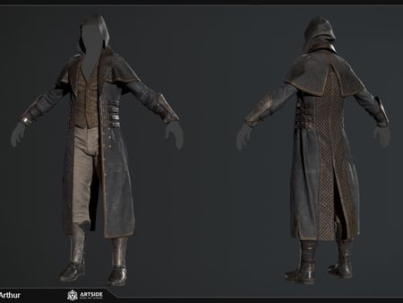 Cloth Course - Fan Art Assassin's Creed X The Order 1886