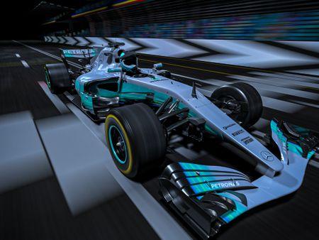 F1 AMG ON TRACK