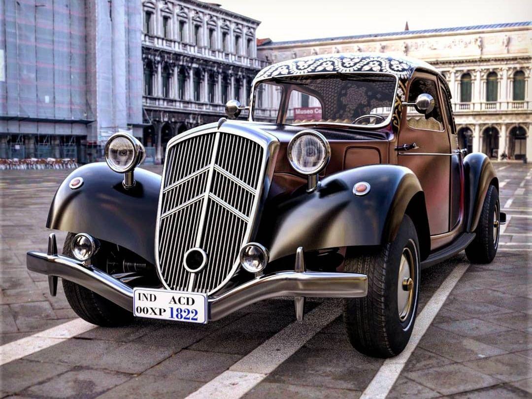 Citroen traction avant 1934 - 3D MODEL