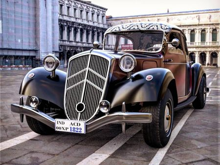 Citroen traction avant 1934 - 3D MODEL