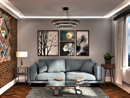 Living Space - 3D interior