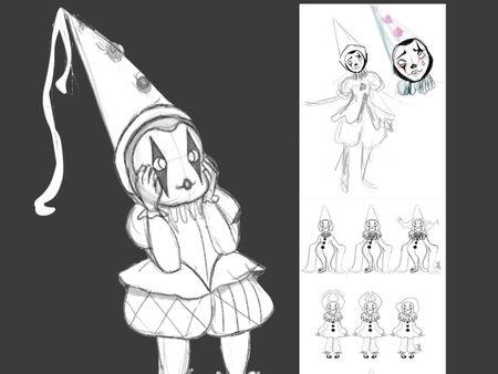 Kool Clownz- Concept Art 1