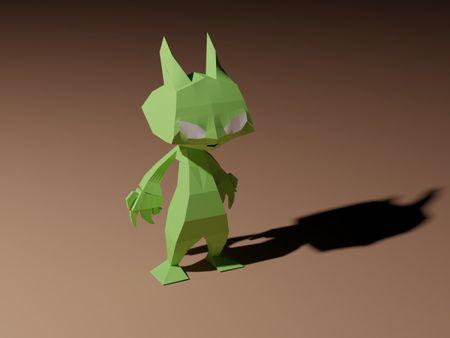 Alien - Lowpoly