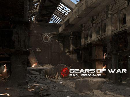 Gears Of War fan art remake