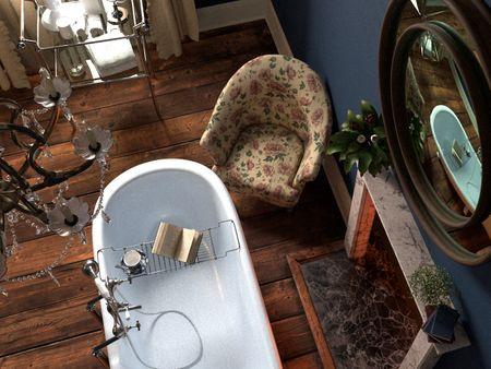 Babington House Bathroom
