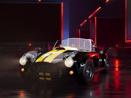 Shelby Cobra 427 Animation