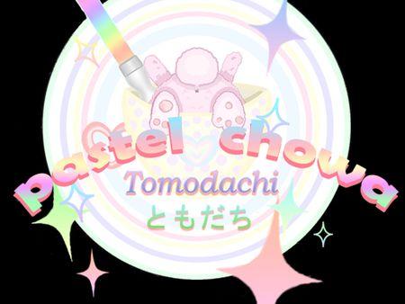 Pastel Chowa Logo and Mascot