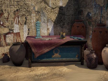 'Ancient Egyptian Tomb' - Diorama