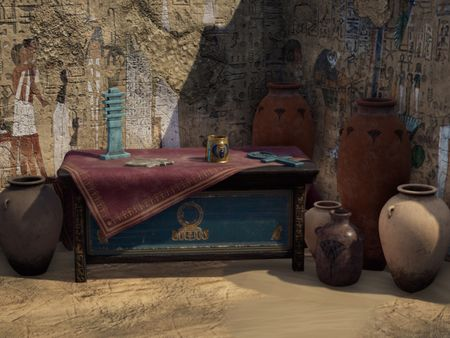 'Ancient Egyptian Tomb' - Diorama