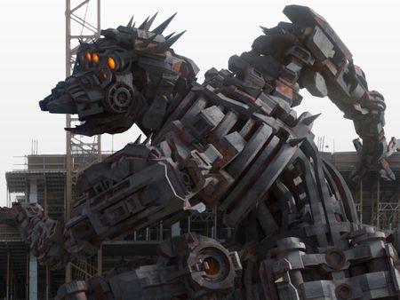 Mechanical Megafauna: Canid Arachnid