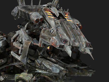 Mechanical Megafauna: Maxillal Mantid
